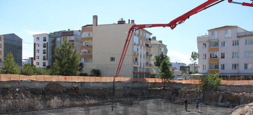 İşkur Binası Temel Atma Töreni Gerçekleştirilmiştir.