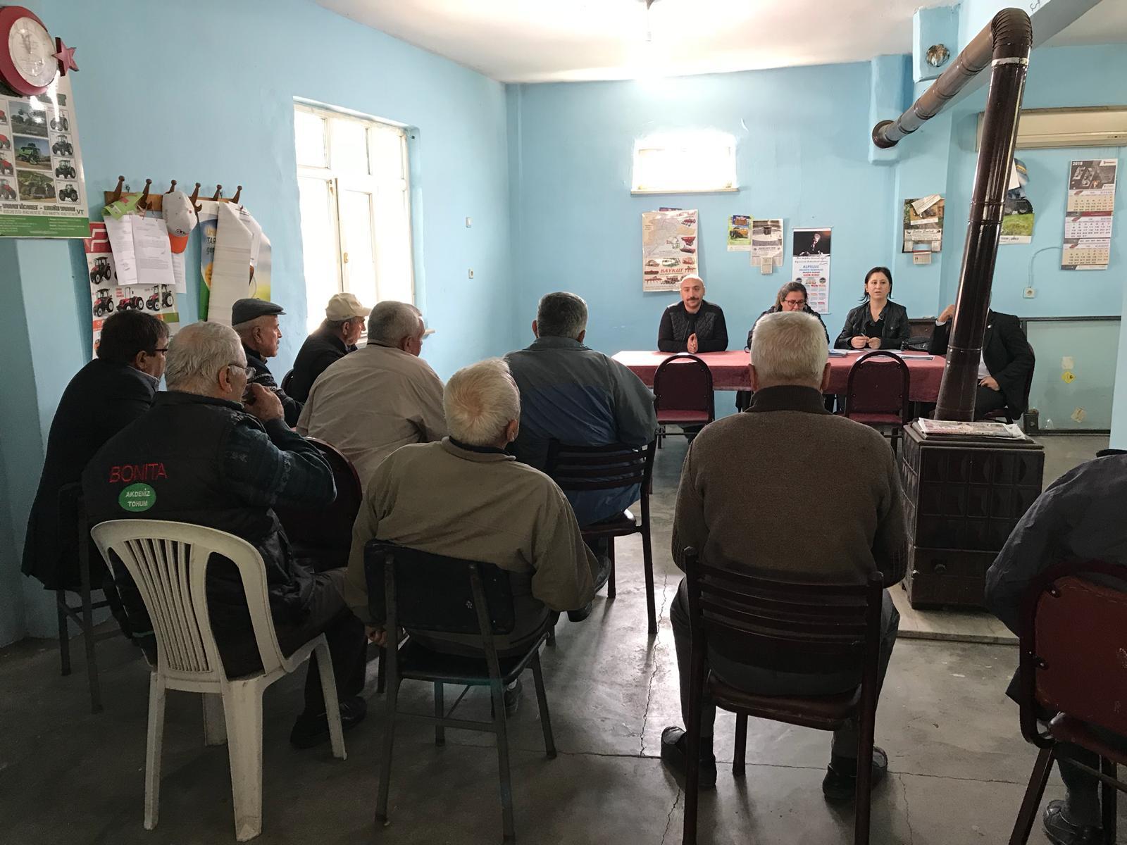 İl Müdürlüğümüz Tarafından Babaeski İlçesi Köylerinde İmar Barışı ve 387 Sıra Sayılı Milli Emlak Genel Tebliği Kapsamında Bilgilendirme Toplantıları Yapılmıştır