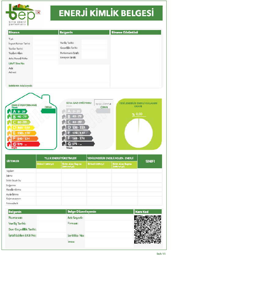 İl Müdürlüğümüz Personeli Tarafından EKB Uzmanlarının Düzenlediği Enerji Kimlik Belgeleri(EKB) İncelenmektedir.