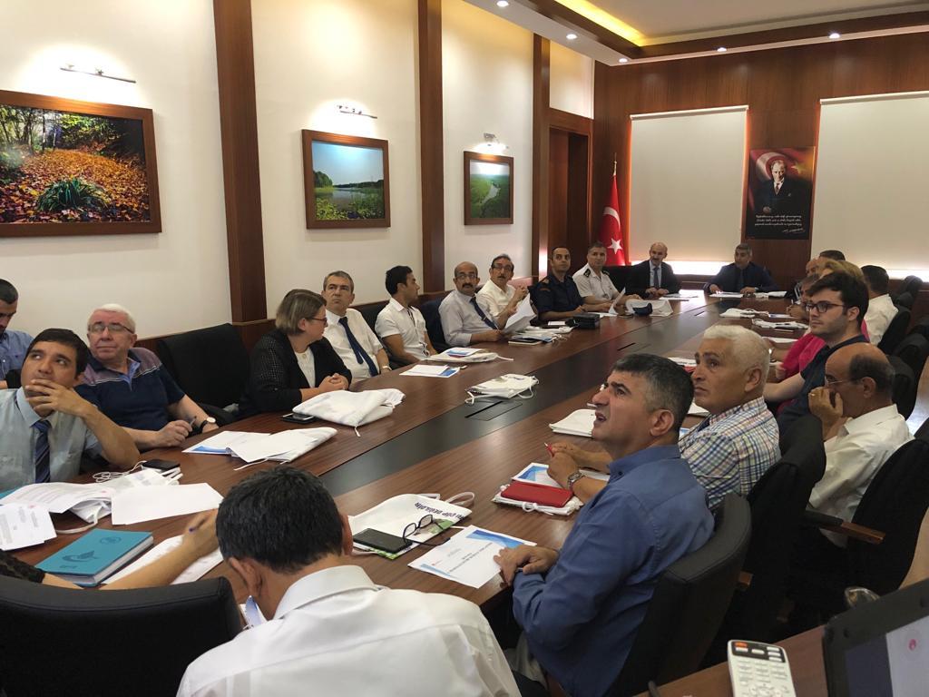 İlimiz Vali Yardımcısı Sayın Emre ÖZTÜRK Başkanlığında 2019/3 Deniz Çöpleri Yönetim Komisyonu Kurulması…