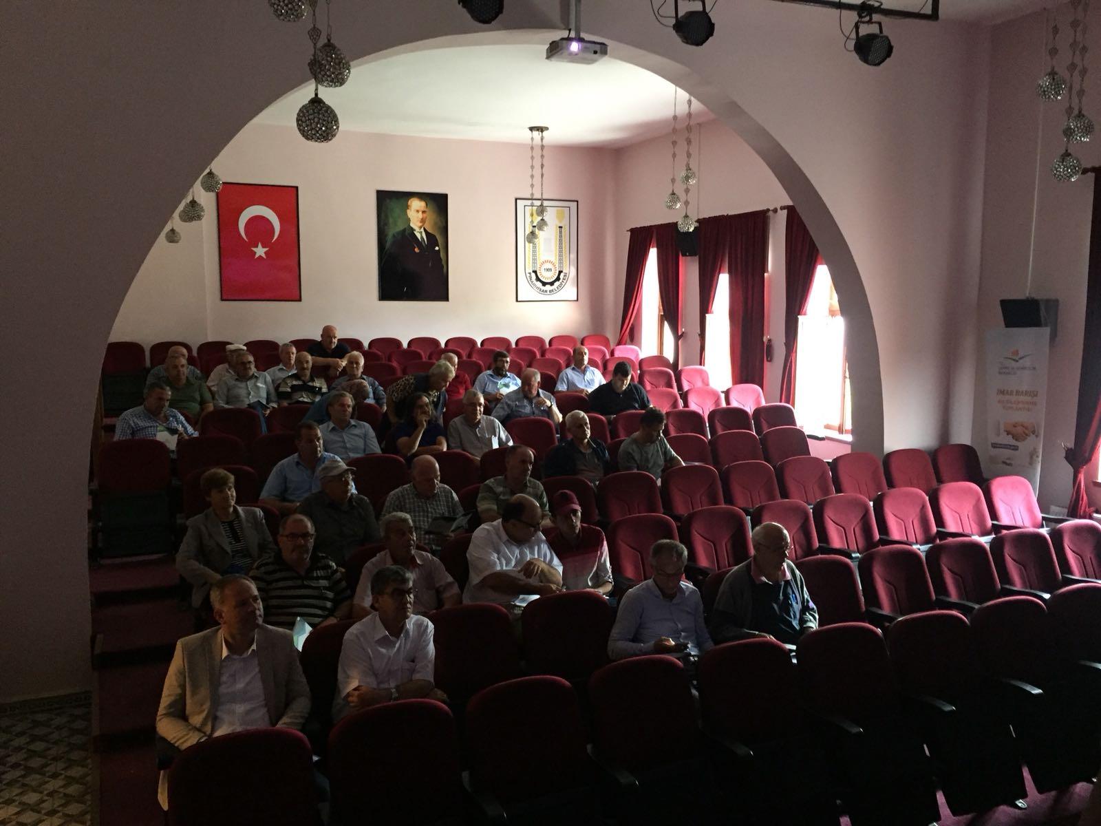 İmar Barışı Pınarhisar Bilgilendirme Toplantısıİl Müdürlüğümüz Personelince Gerçekleştirilmiştir.