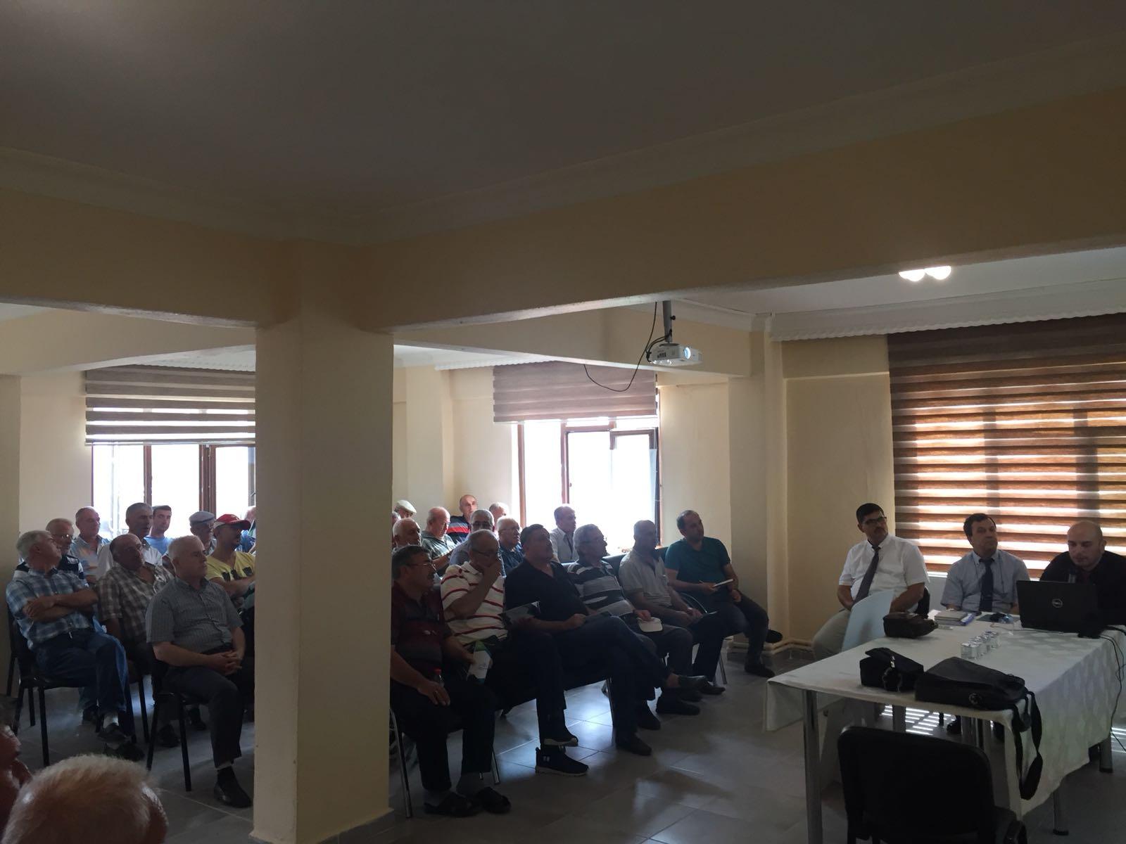 İmar Barışı Evrensekiz Bilgilendirme Toplantısı İl Müdürlüğümüz Personelince Gerçekleştirilmiştir.
