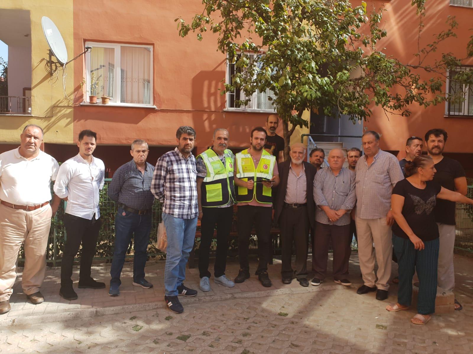 İstanbul İlinde 26 Eylül 2019 tarihinde meydana gelen depremde hasar gören binaların tespit çalışmalarına…