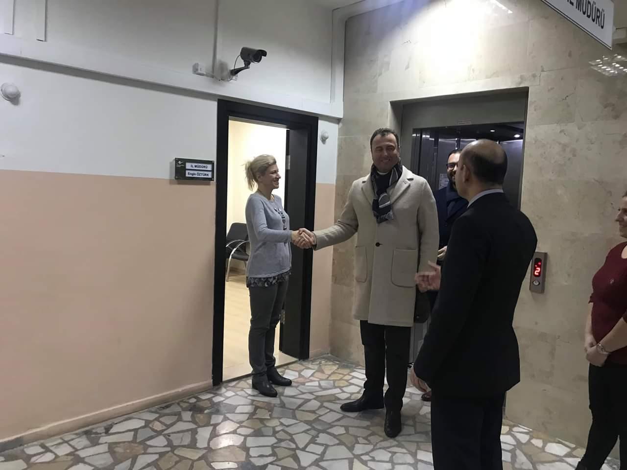 Kırklareli AK Parti Milletvekili Selahattin MİNSOLMAZ ve AK Parti İl Başkanı Alper ÇİLER İl Müdürlüğümüze Ziyarette Bulunup İmar Barışı ve İlimizde Yapılan Çalışmalar Hakkında Bilgi Almışlardır