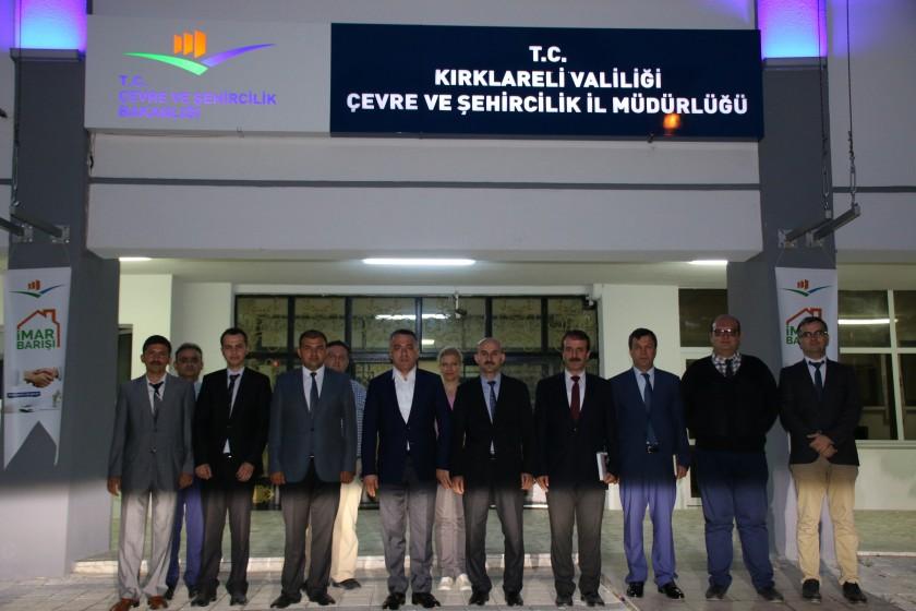 Sayın Valimiz Osman BİLGİN İl Müdürlüğümüzü ziyaret ederek brifing aldı