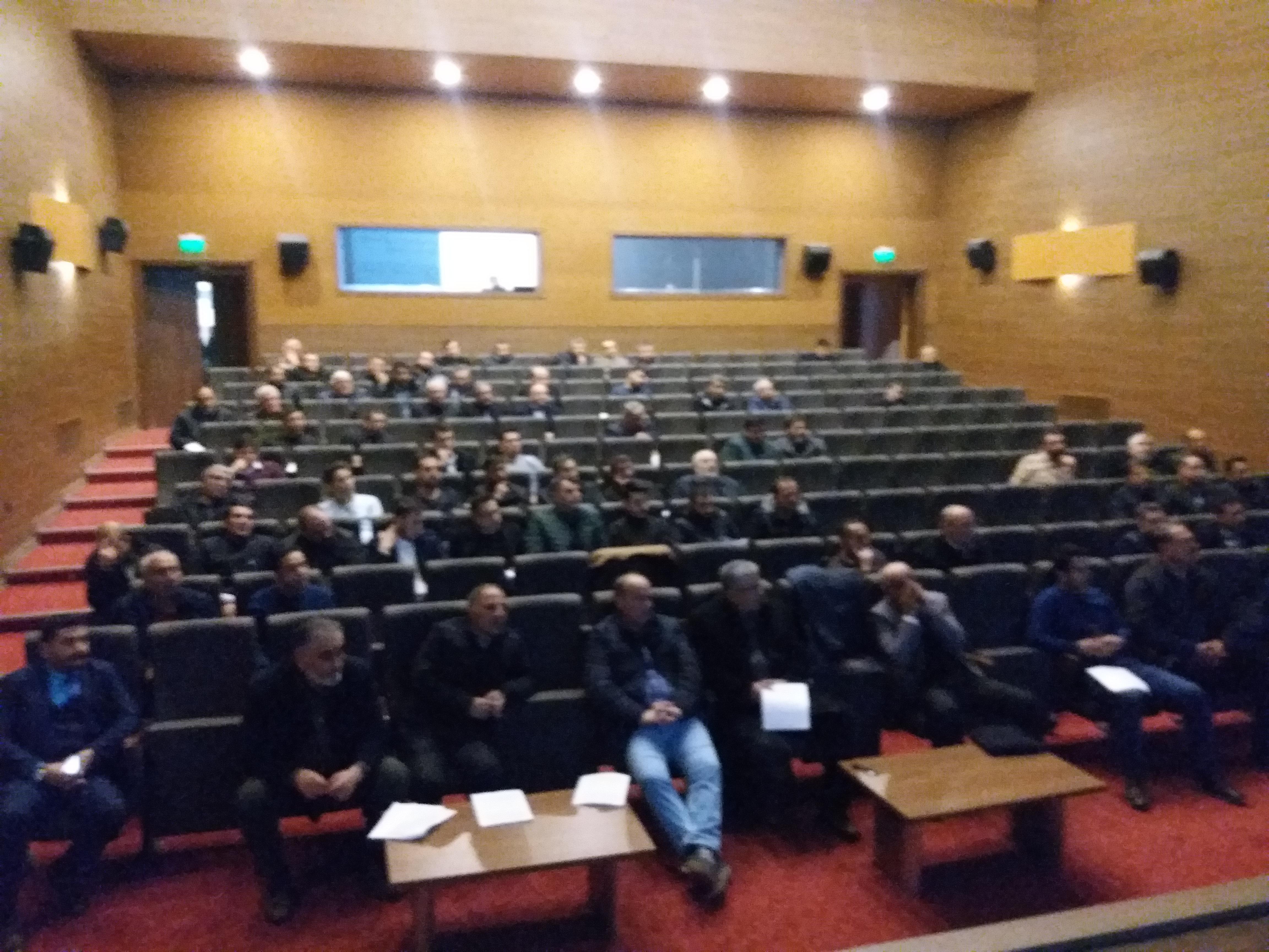 Müteahhitlerin  Sınıflandırılması hakkında toplantı