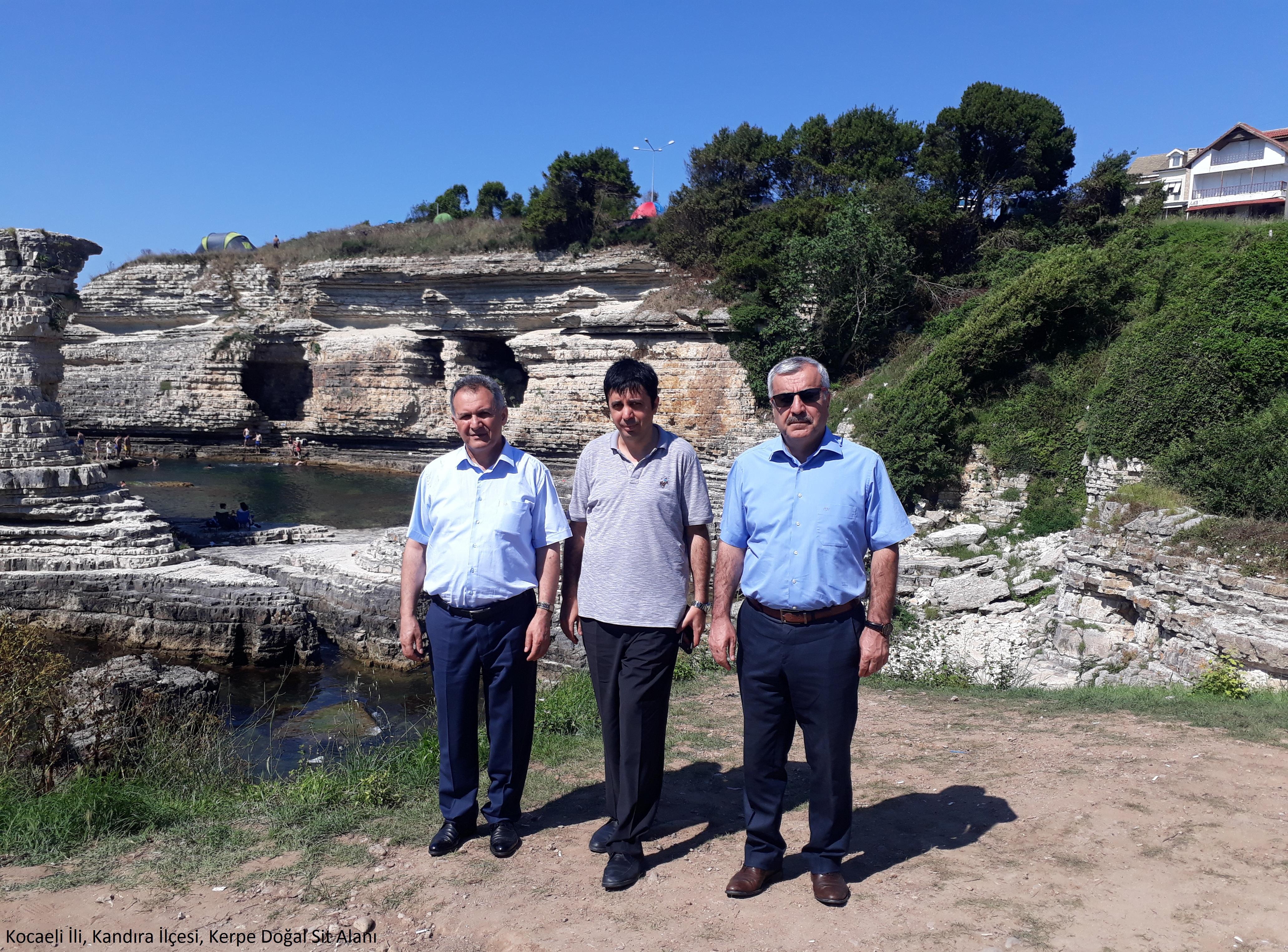 İl Müdürümüz Ahmet KIRILMAZ Kefken ve Kerpe'de incelemelerde bulundu.