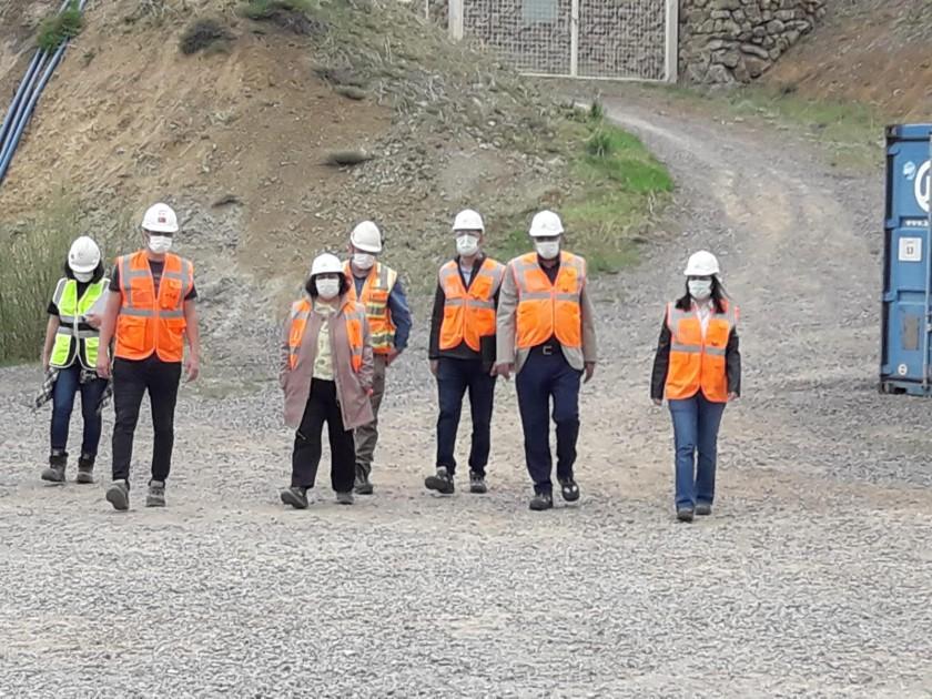 İl Müdürümüz Altın Madeninde İncelemelerde Bulundu
