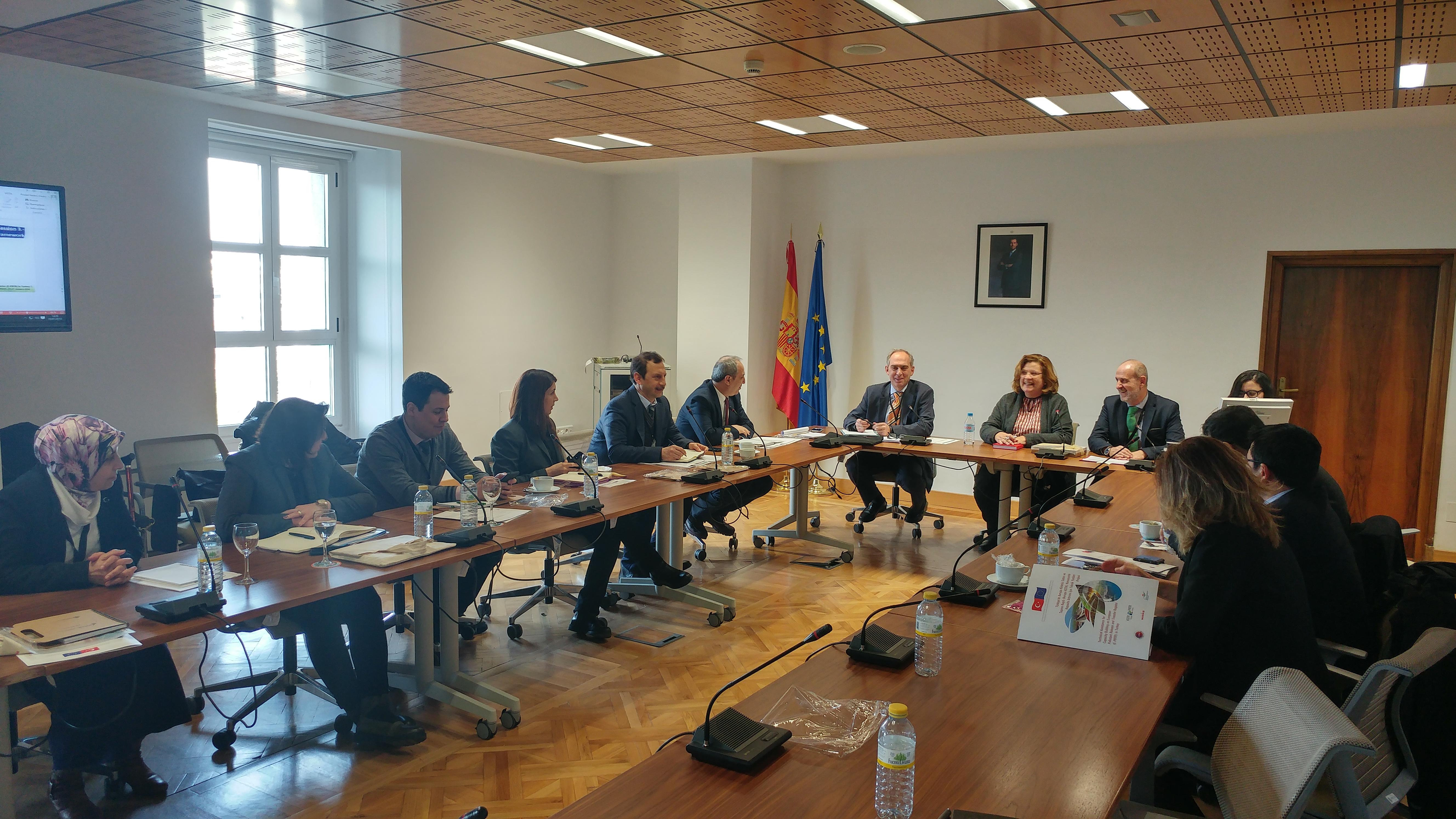 14-20 Ocak 2018 Tarihleri Arasında İspanya'nın Madrid Şehrine Bir Çalışma Ziyareti Gerçekleştirildi