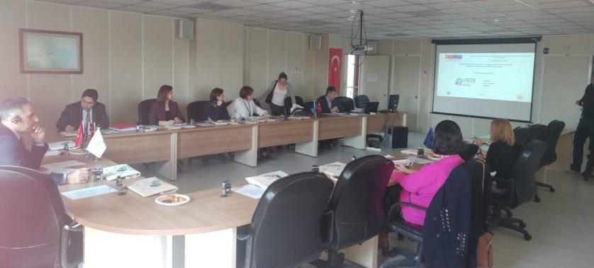5. Proje Yönlendirme Komite Toplantısı, 21 Şubat 2019, Laboratuvar Ölçüm ve İzleme Daire Başkanlığı