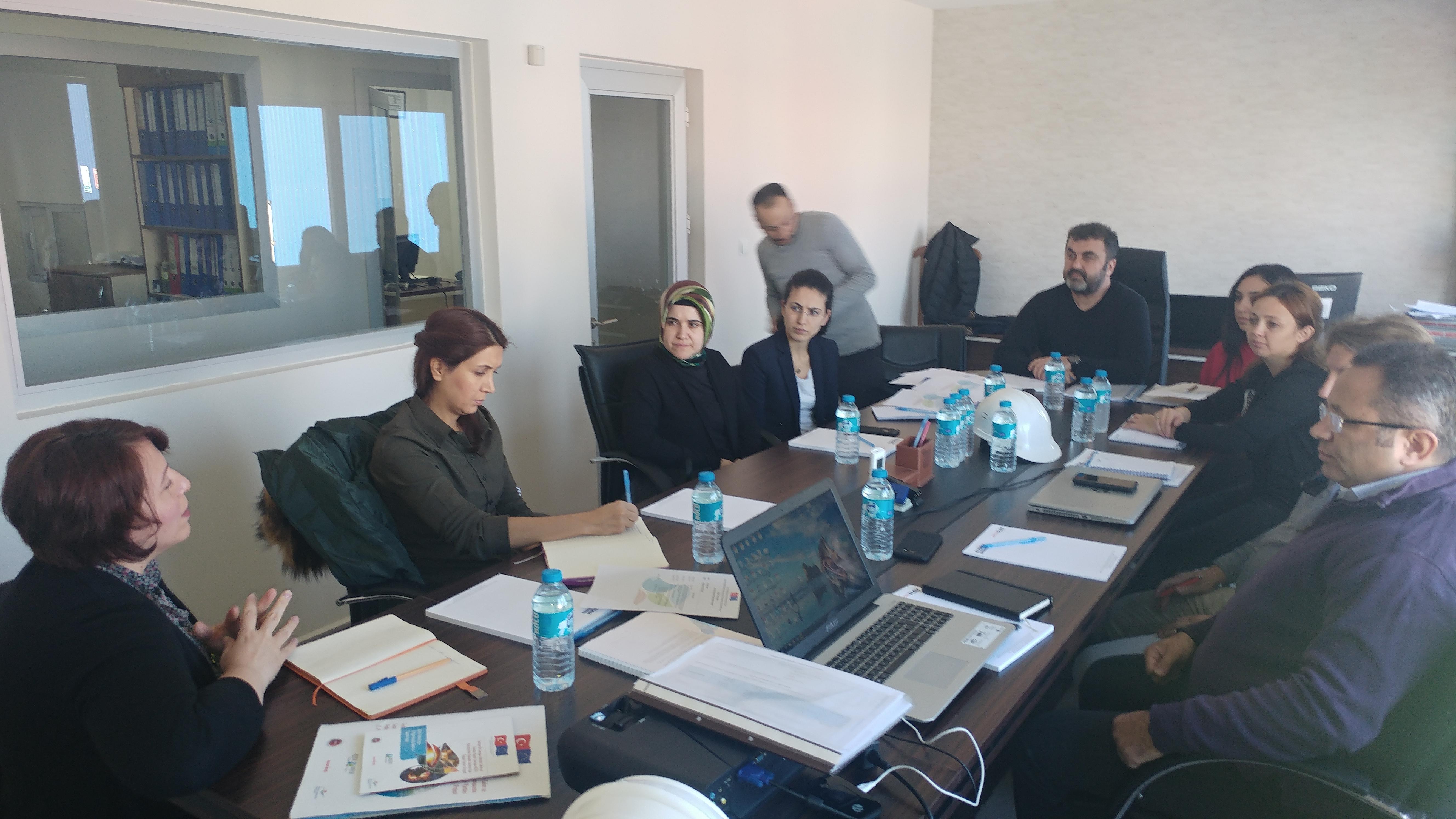 Pilot Tesislere Saha Ziyareti