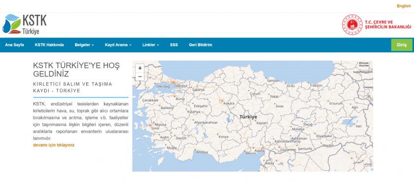 Taslak Ulusal KSTK Websitesi