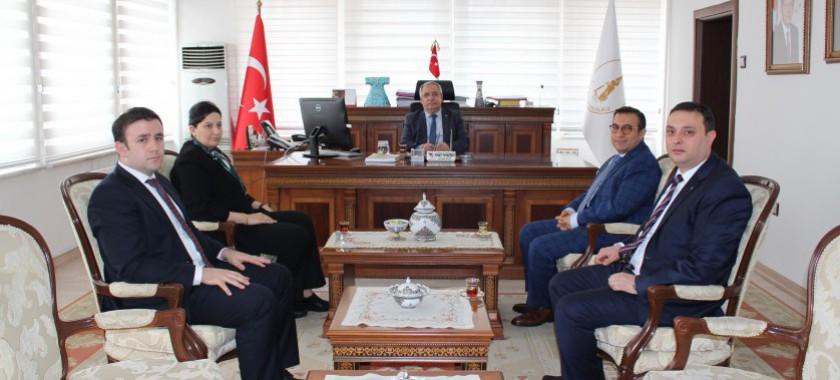 Bakanlığımız Müsteşar Yardımcısı Sn. Refik TUZCUOĞLU'nun Kütahya Ziyareti