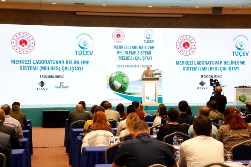II. Merkezi Laboratuvar Belirleme Sistemi (MELBES) Çalıştay'ı Antalya'da düzenlendi.