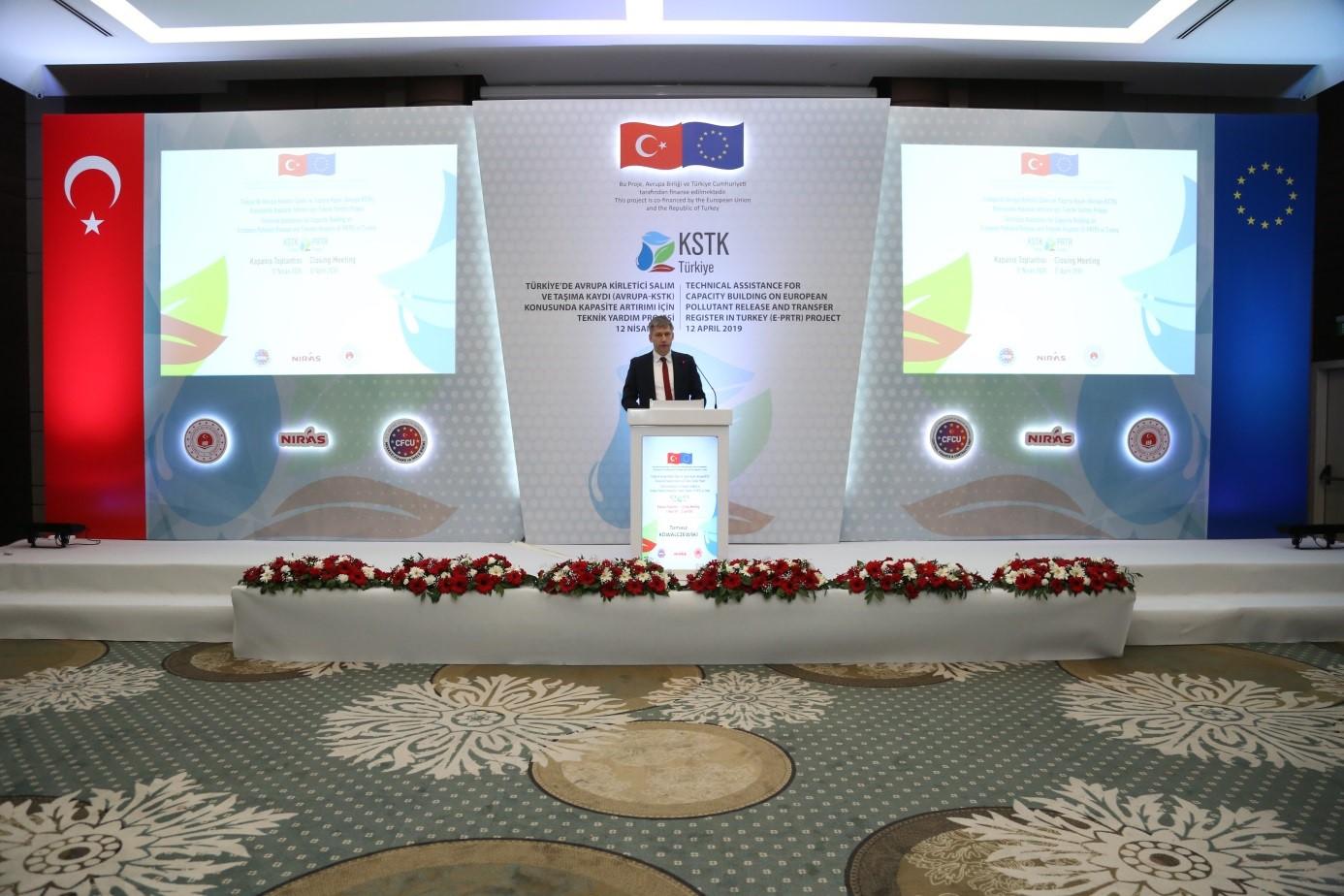 Kirletici Salım ve Taşıma Kaydı Projesi Kapanış Toplantısı gerçekleştirildi.
