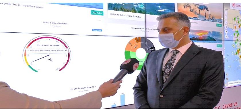 Ülkemizin hava, su ve toprak kalitesi Çevre Referans Laboratuvarımızda izlenip analiz ediliyor.