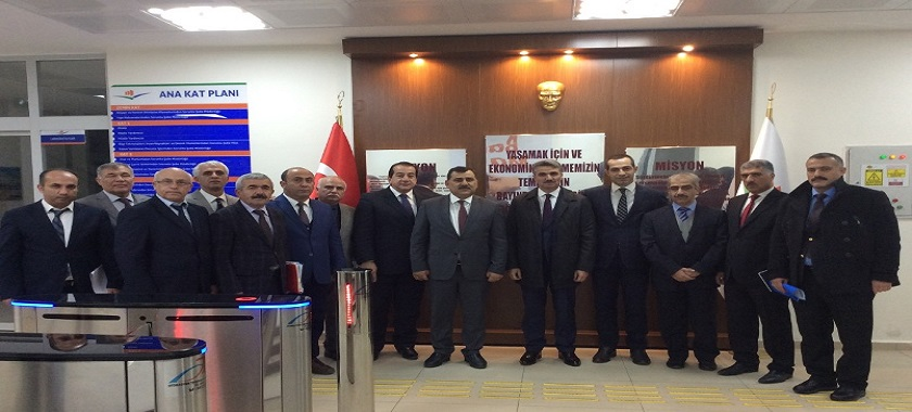 Malatya Valisi Aydın BARUŞ'un Kurum Ziyareti