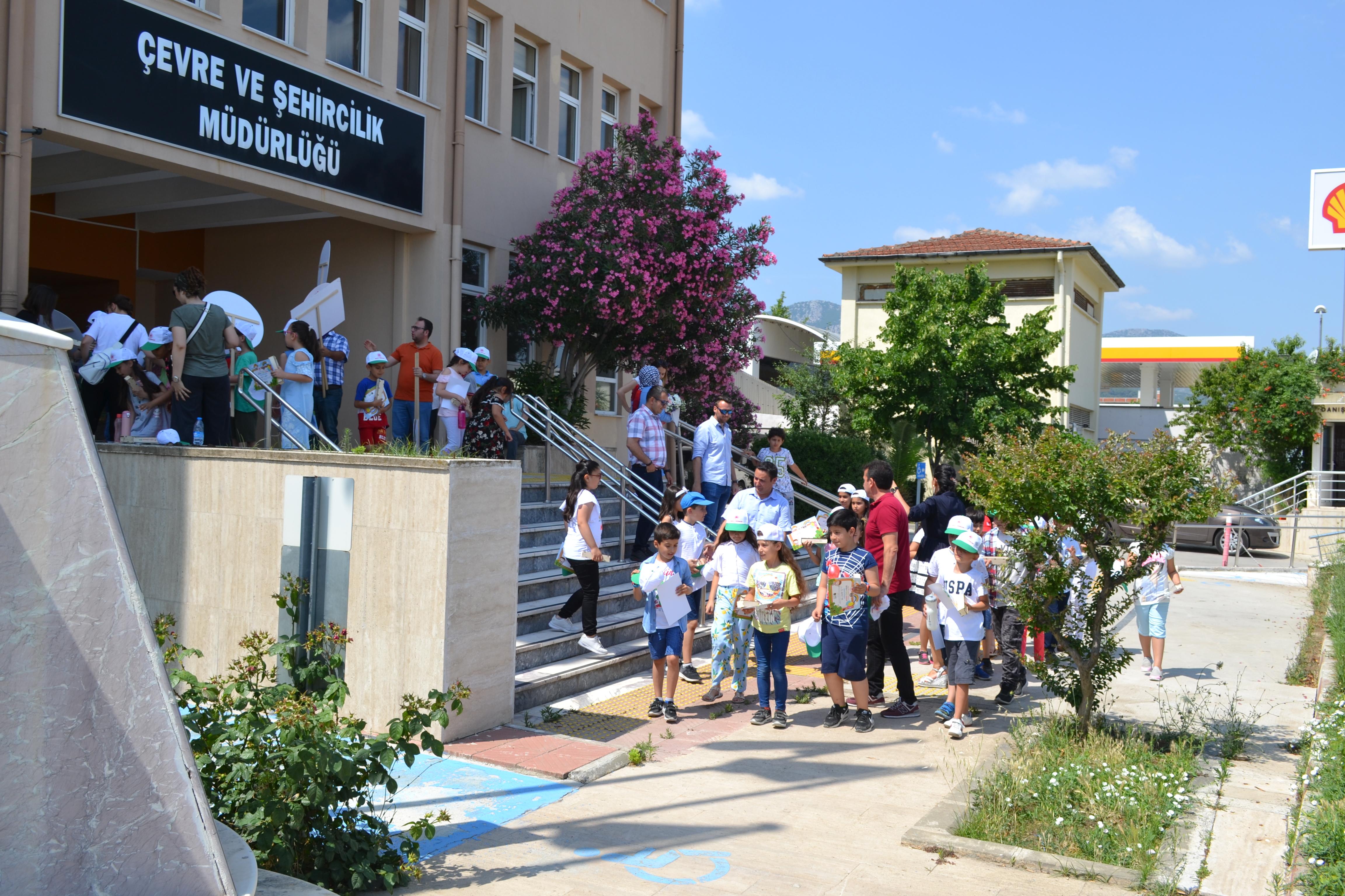 5 Haziran Çevre Günü Kutlamaları Kapsamında Mehmet Suphi Egemen İlkokulu Öğrencilerinin Kurumumuza Ziyareti