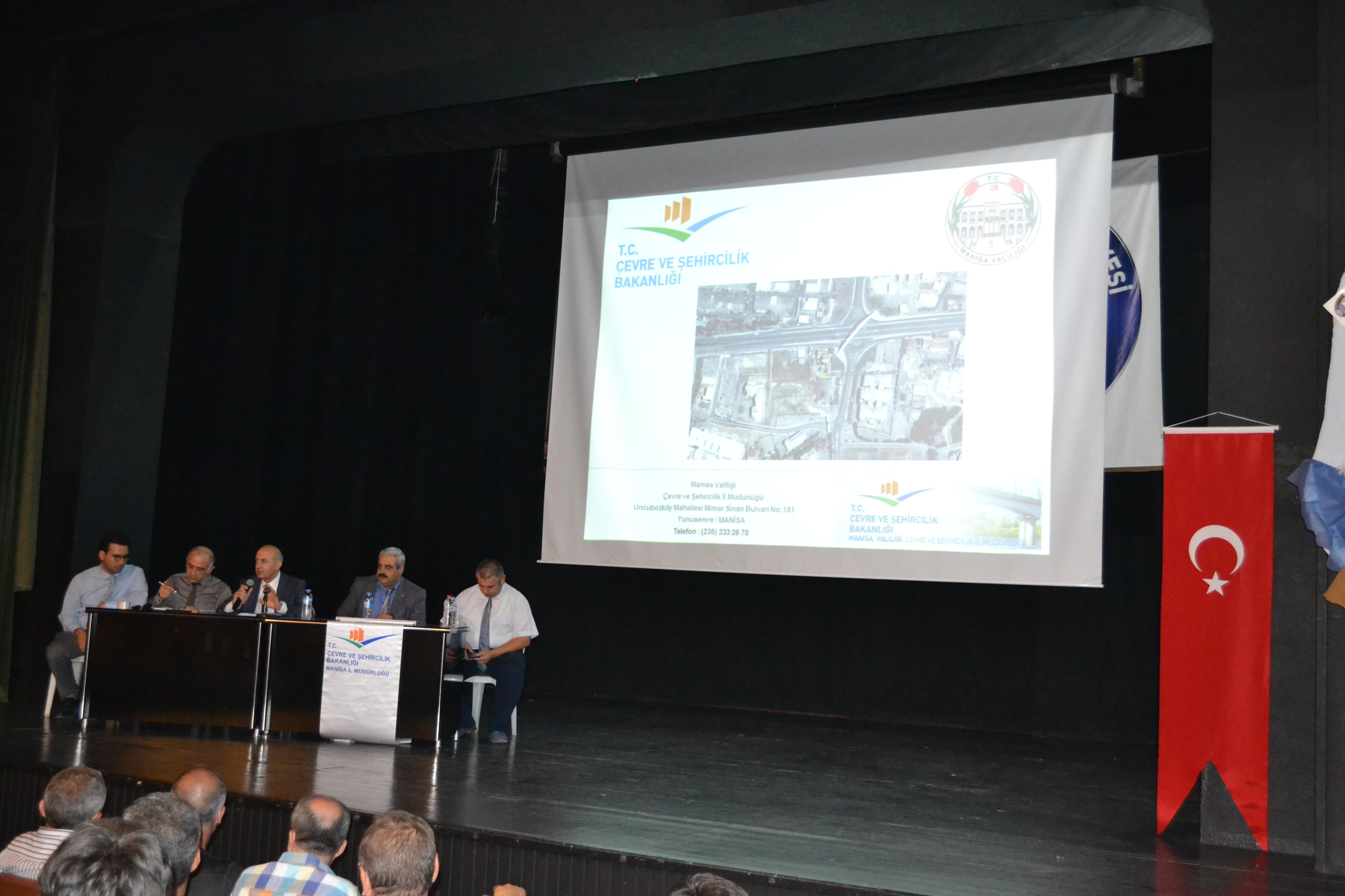 İmar Barışı: Salihli İlçesinde Bilgilendirme Toplantısı Düzenlendi