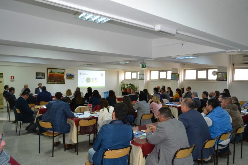 Manisa İli Sıfır Atık Yönetim Sistemi Planı Hazırlanması Toplantısı