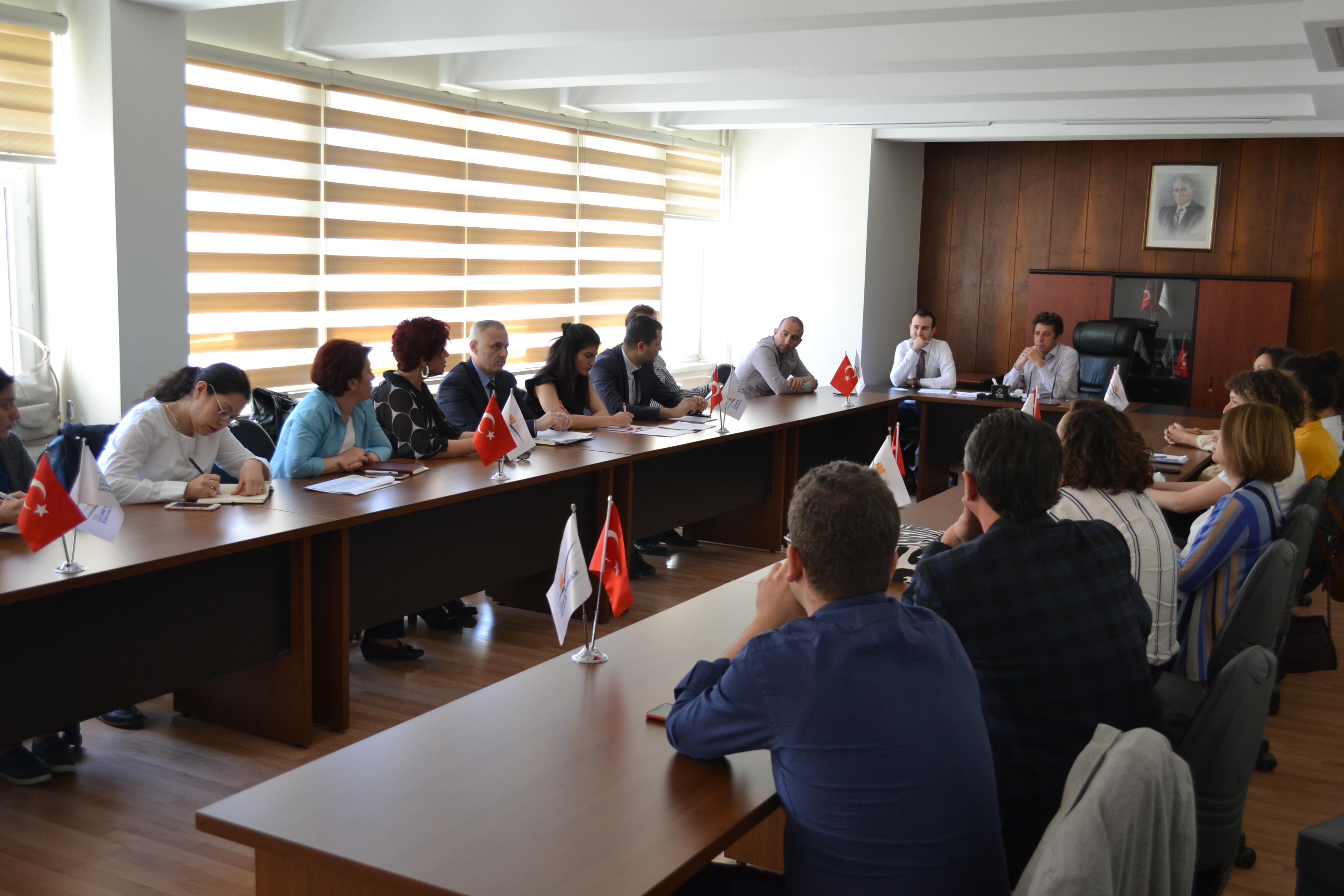Riskli Alanların Tespit Edilmesi ve Kentsel Dönüşüm Strateji Belgesi Toplantısı