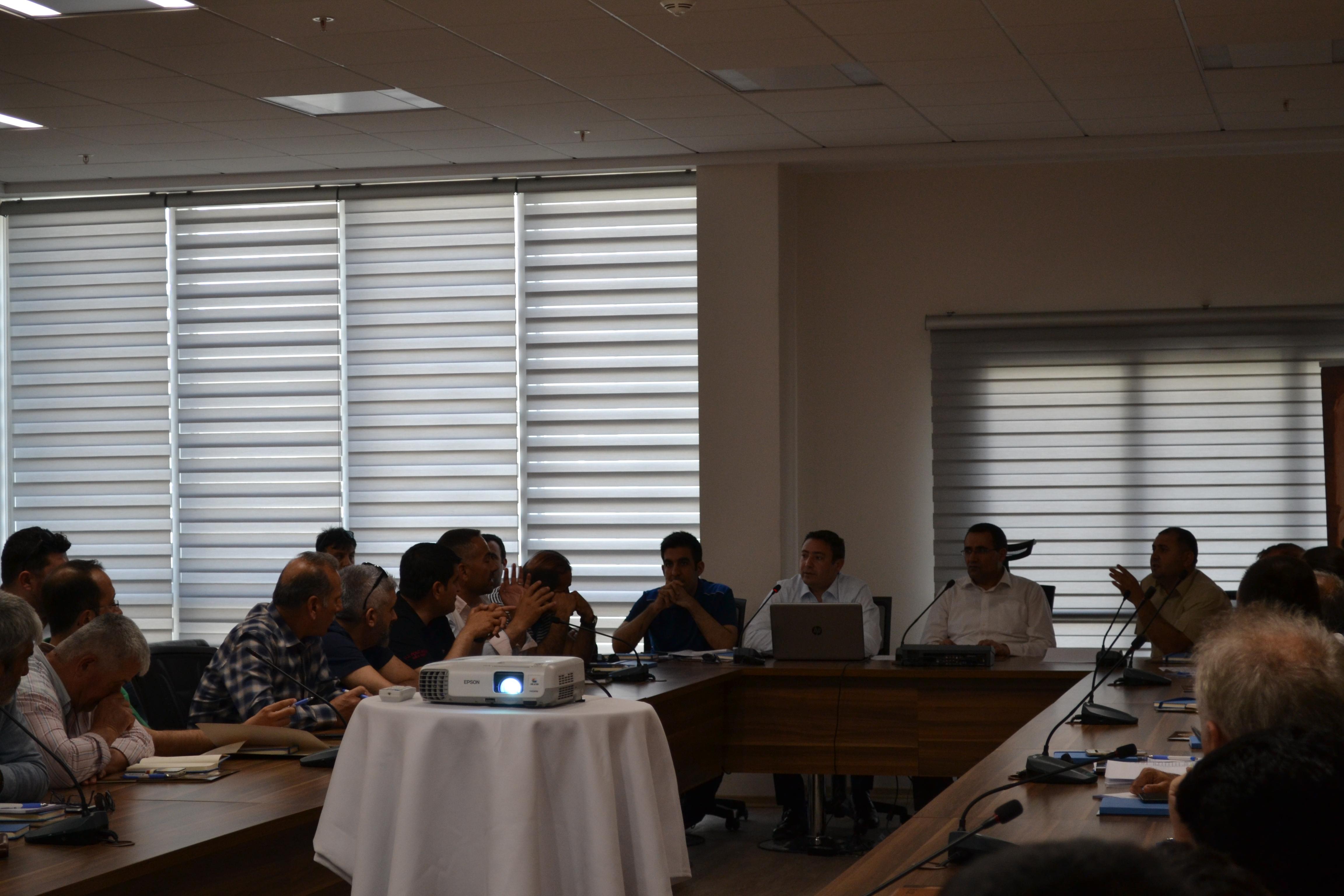Yapı Müteahhitlerine Yönelik Bilgilendirme Toplantısı