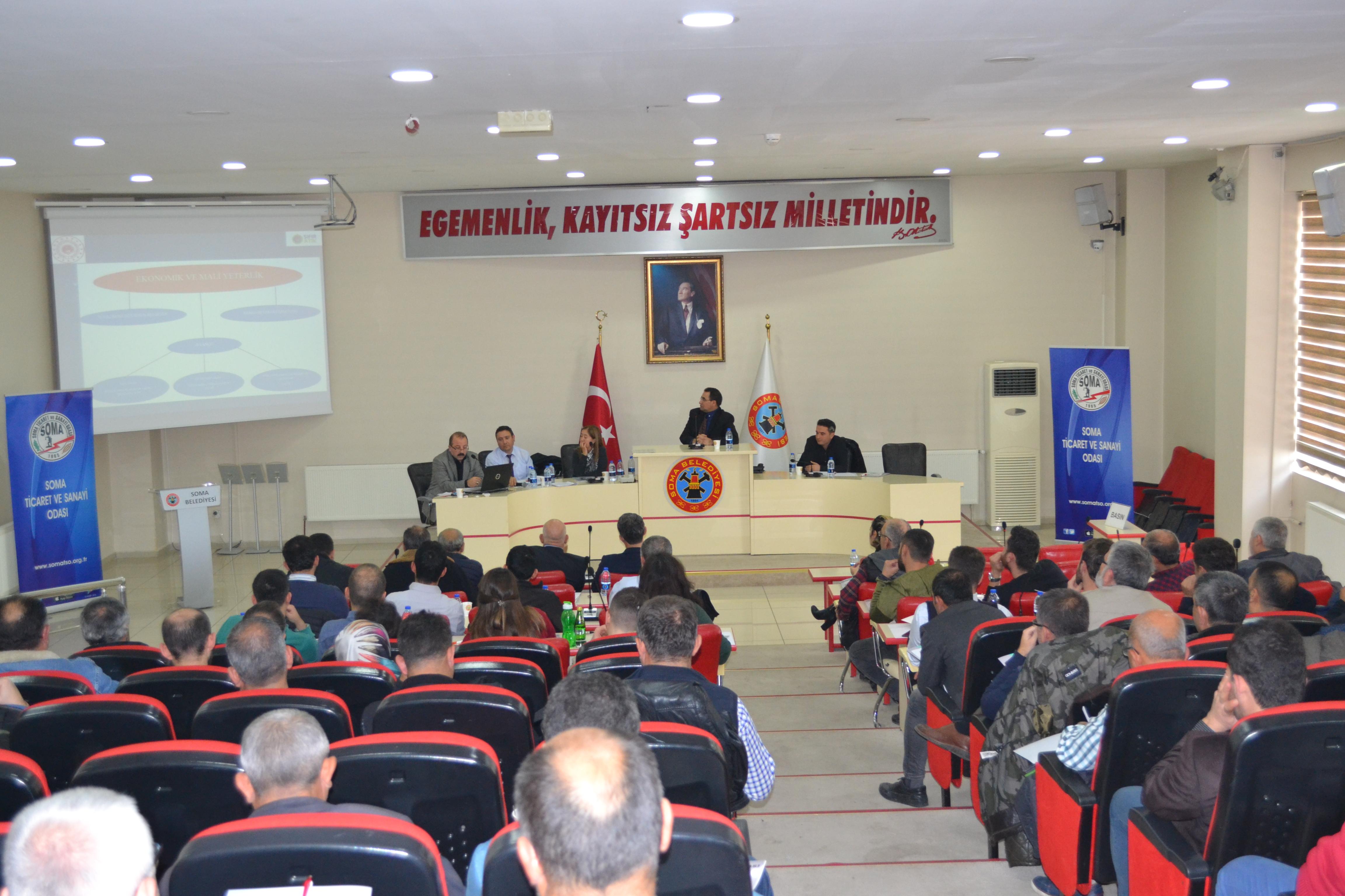 Yapı Müteahhitlerinin Sınıflandırılması ve Kayıtlarının Tutulması Yönetmeliği Hakkında Toplantı Düzenlendi