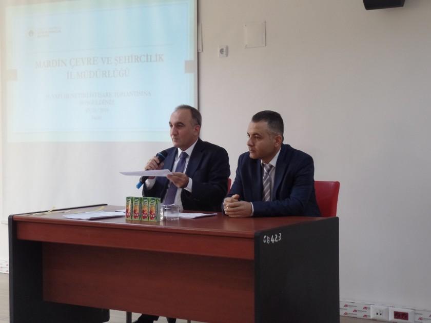 19.Yapı Denetimi İstişare Toplantısı Müdürlüğümüzde Yapıldı.
