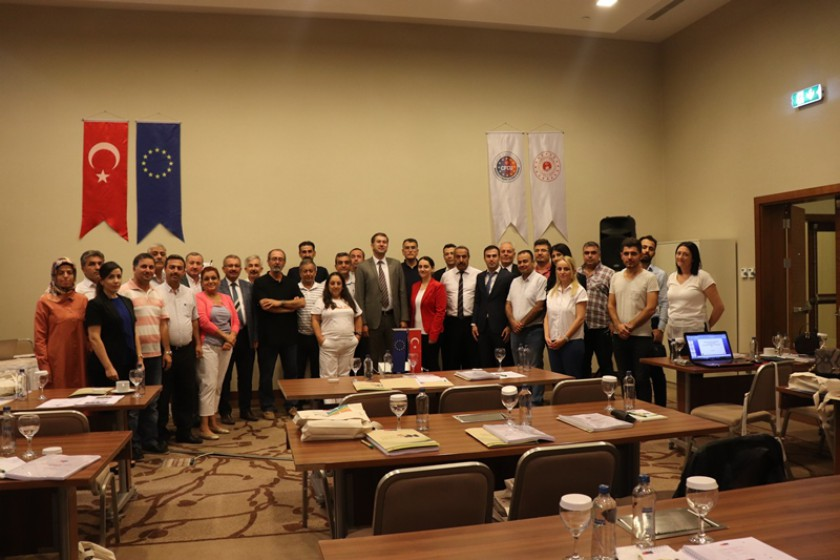 İklim Değişikliği Eğitimi Mardin'de Gerçekleştirildi.