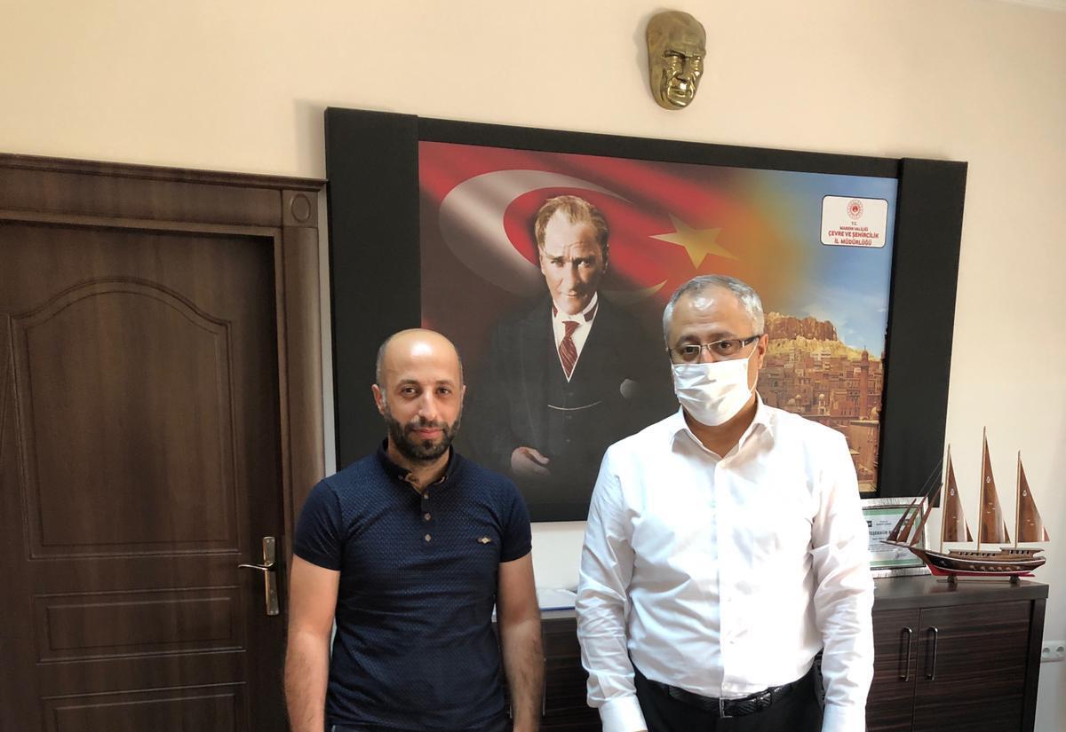 Asaleti gelen personelimiz Rıdvan Dağdelen