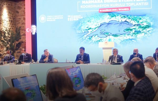 Marmara Denizi Eylem Planı Koordinasyon Kurulu 15 Haziran'da toplandı