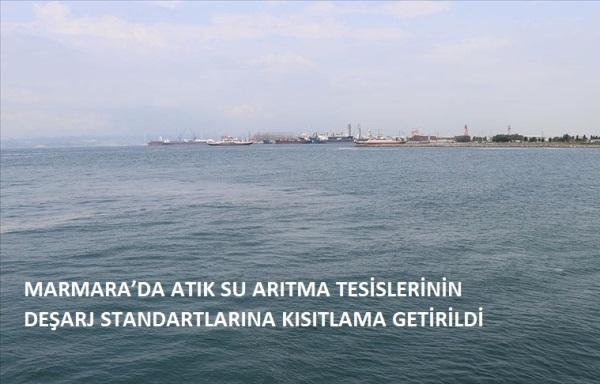 Marmara'da Atık Su Arıtma Tesislerinin Deşarj Standartlarına Kısıtlama Getirildi