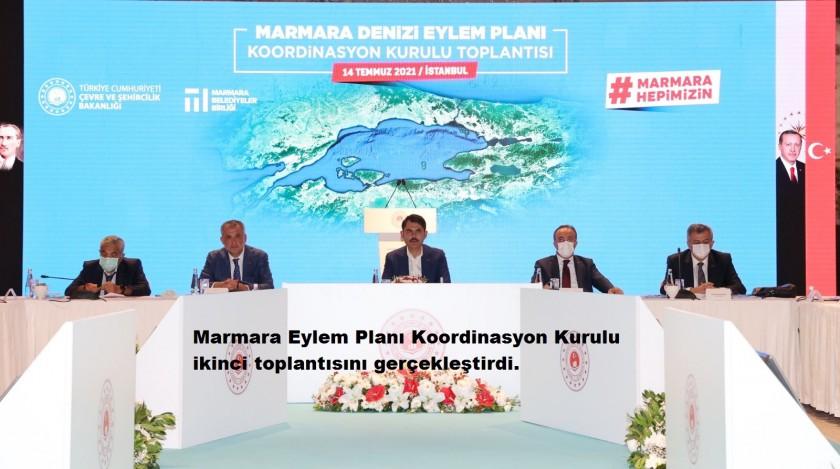 Marmara Eylem Planı Koordinasyon Kurulu 2. Toplantısını gerçekleştirdi.