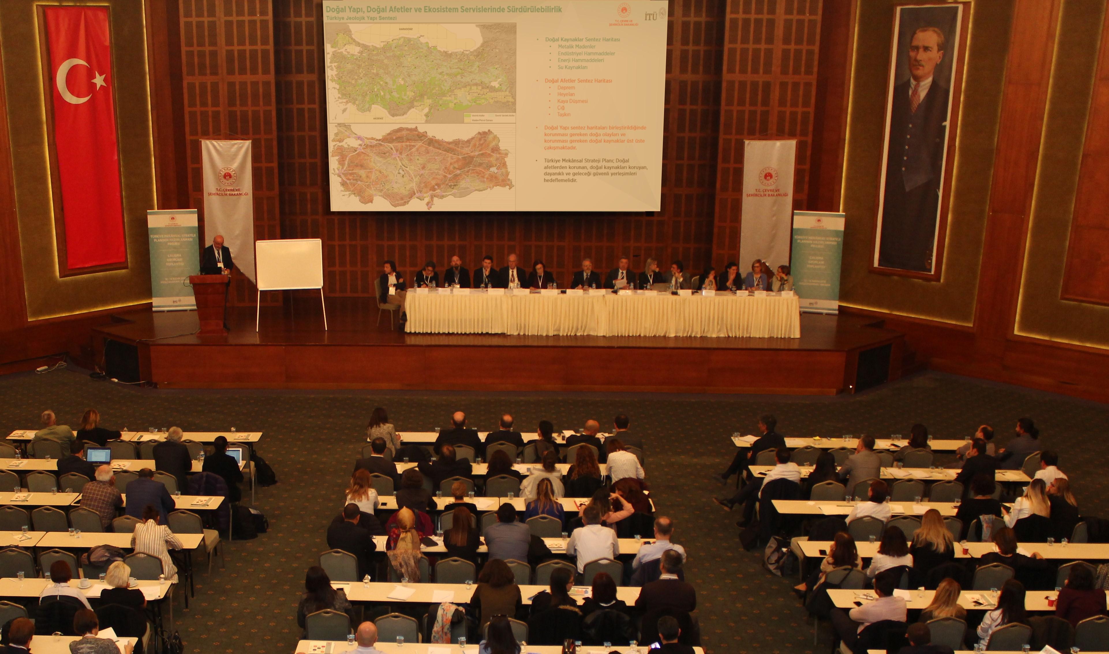 Türkiye Mekânsal Strateji Planı Çalıştayı 13-14 Kasım tarihlerinde Kızılcahamam'da gerçekleştirildi.