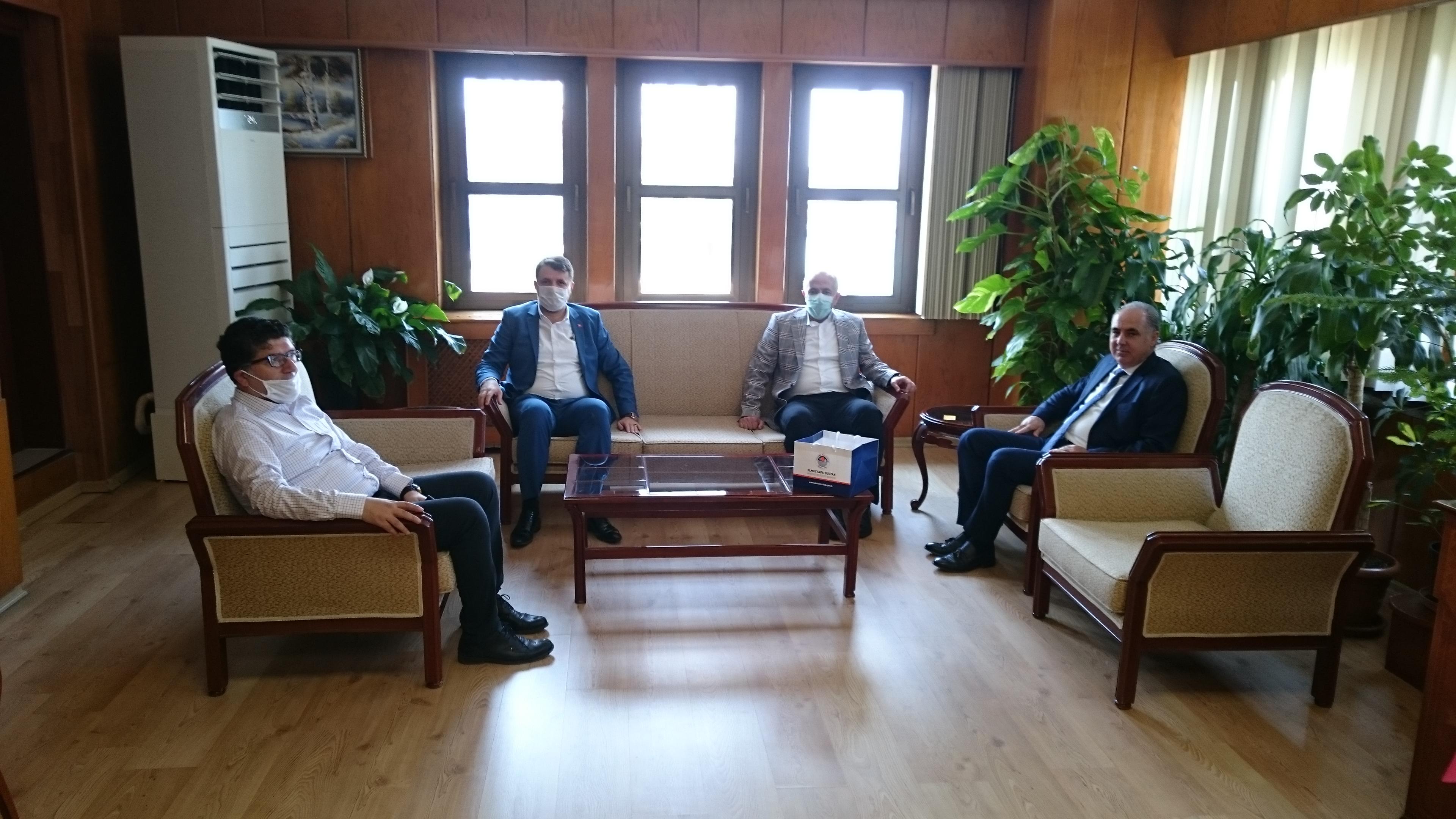 Akdeniz Belediye Başkanı Sayın Mustafa Muhammet GÜLTAK İl Müdürlüğümüzü ziyaret etti.