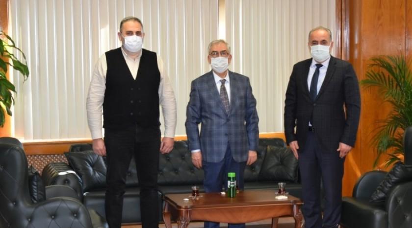 Bayındır Memur - Sen Mersin İl Başkanı Mehmet Ali Aklamuz İl Müdürlüğümüzü ziyaret etti.