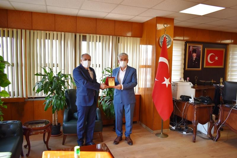 Emekli Olan Personelimiz Ahmet TAŞ İçin Plaket Töreni Düzenlendi.