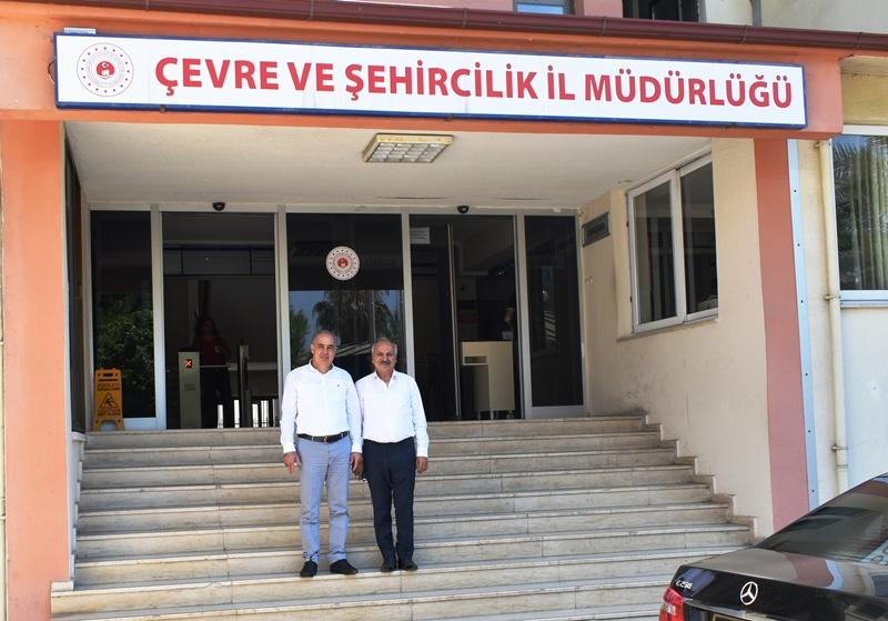 Esnaf ve Sanatkarlar Odası Başkanımız Sayın Talat DİNÇER Bey İl Müdürlüğümüzü Ziyaret Etmiştir.