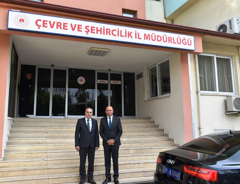 İl Emniyet Müdürümüz Sayın Mehmet ŞAHNE, Çevre ve Şehircilik İl Müdürü Sayın Hüseyin Özgür YALÇIN' ı  Ziyarette Bulunmuştur.