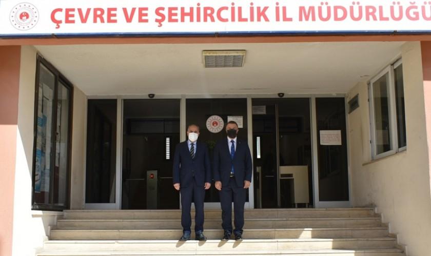 Mersin Cumhuriyet Başsavcısı Tolgahan Öztoprakİl MüdürümüzüZiyaretteBulundu.
