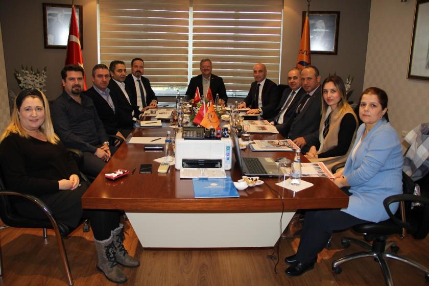 Mersin Tarsus Organize Sanayi Bölgesi İle Sıfır Atık Koordinasyon Toplantısı Yapıldı