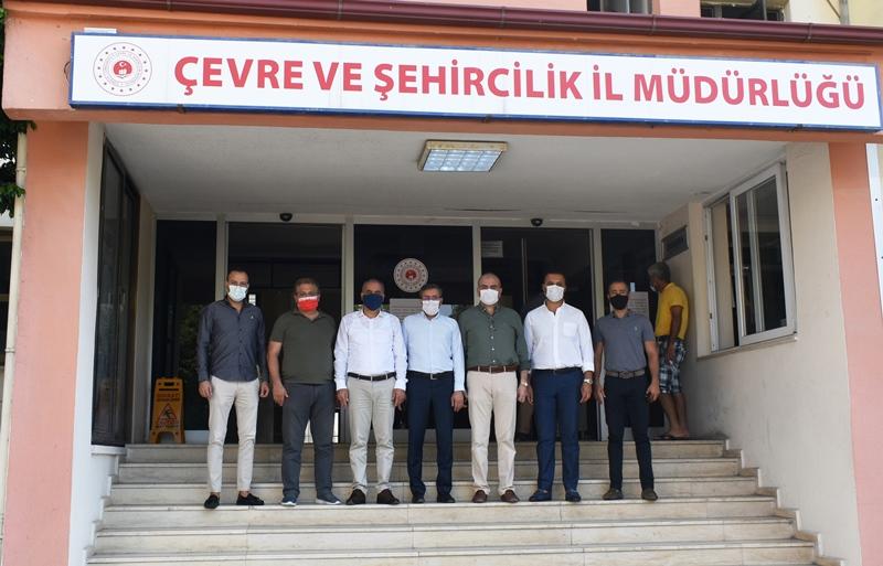 Mersin Yetkili Otomotiv Satıcıları Derneği Yönetim Kurulu Üyeleri İl Müdürlüğümüzü Ziyaret Etmişlerdir.