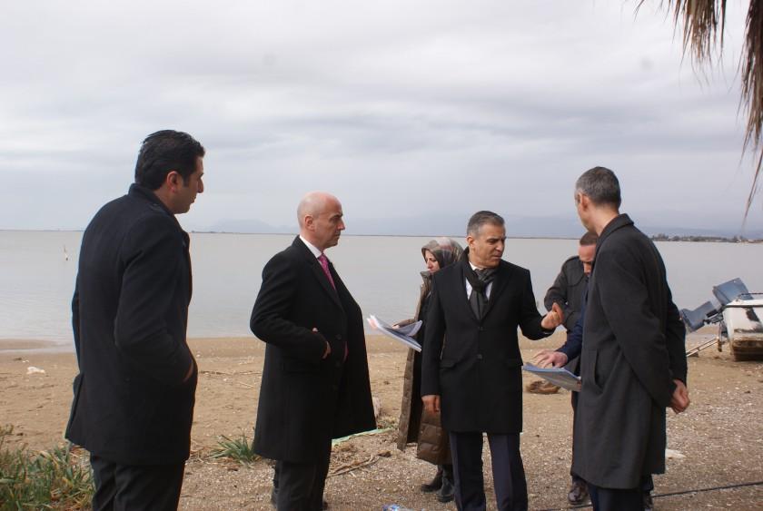 Tabiat Varlıkları Genel Müdürlüğü ve İl Müdürlüğümüzce Göksu Deltası Özel Çevre Koruma Alanında İnceleme ve Toplantı Yapılmıştır.