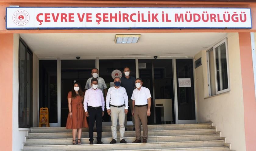 Türk İmar-Sen Genel Başkan Yardımcısı Ali Rıza GÜL Bey İl Müdürlüğümüzü Ziyaret Etmiştir.