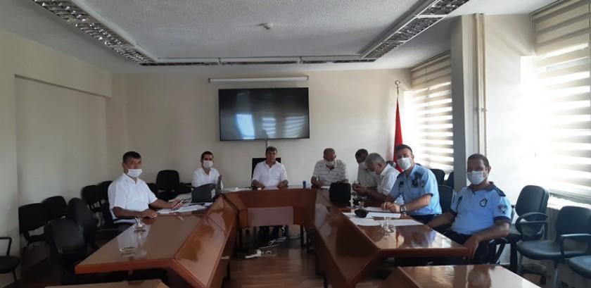 Yerel Yönetimler Sendika Başkanları Toplantısı Yapılmıştır