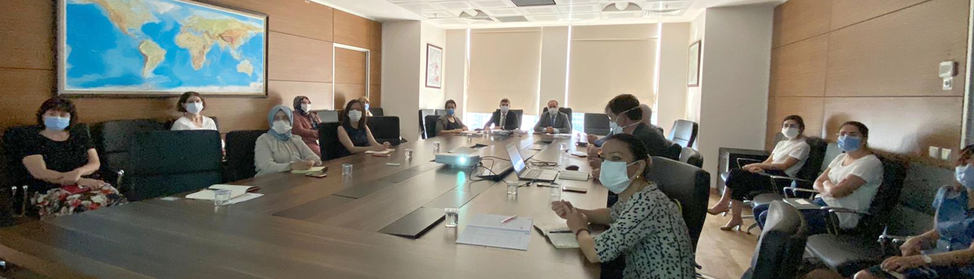 """""""Kentsel Tasarım Rehberleri Uygulama Projesi"""" Değerlendirme Toplantısı 27.08.2020 Tarihinde Gerçekleştirildi"""