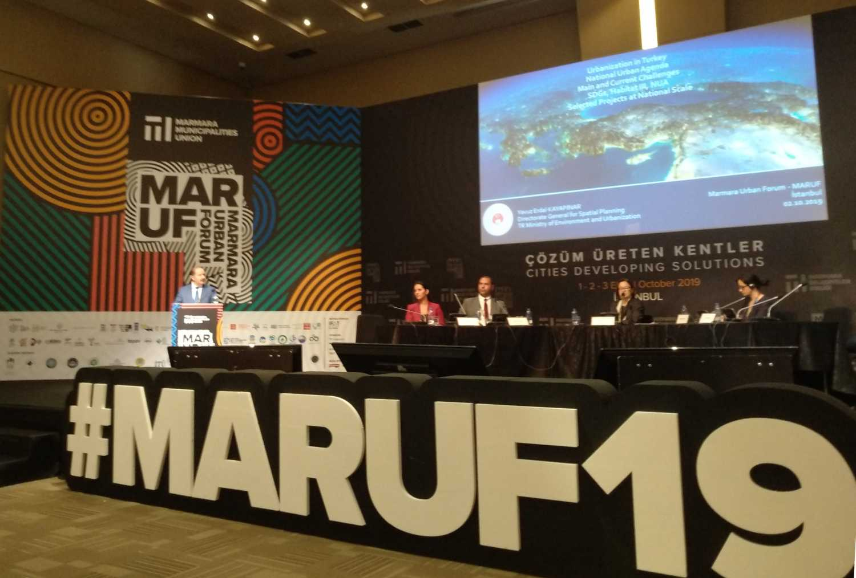 Marmara Uluslararası Kent Forumu / Marmara Urban Foruma (MARUF) katılım sağlandı.