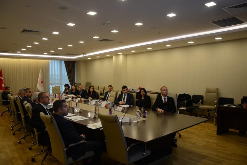 Samsun Üniversitesi, Malatya Turgut Özal Üniversitesi, Kayseri Üniversitesi ve Tarsus Üniversitesi Yer Seçim Kurulu 09.12.2019 tarihinde toplandı.