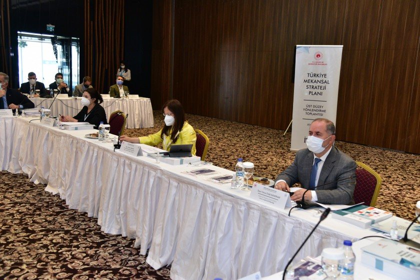 Türkiye Mekânsal Strateji Planı 3. Üst Düzey Yönlendirme Toplantısında, Planın Hedefleri ve Stratejileri görüşüldü. 26.05.2021