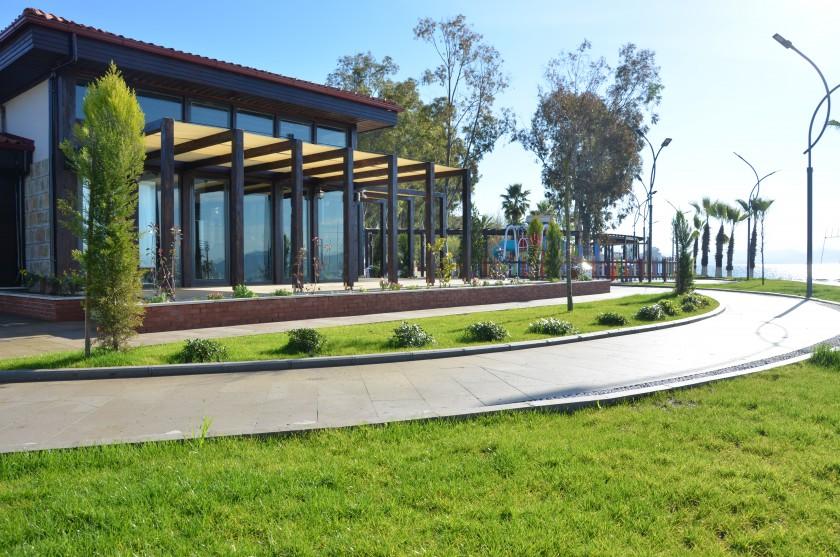 Delta Plajı Çevre Düzenlemesi, Kafeterya Yapımı ve Gelişim, Beyobası, Yeni Mahallede Park Yapım İşi Bakanlığımız Tabiat Varlıklarını Koruma Genel Müdürlüğü katkılarıyla tamamlanmıştır.